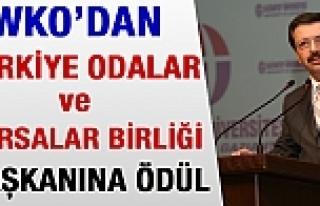 WKO'dan Türkiye Odalar ve Borsalar Birliği Başkanına...