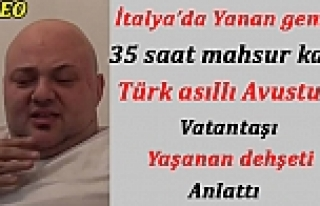 Yanan feribotta 35 saat kalan Türk asıllı Avusturya...