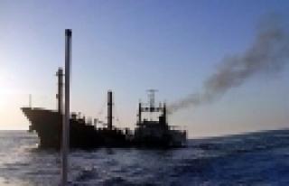 ''Yemen'de yük gemisi battı!''