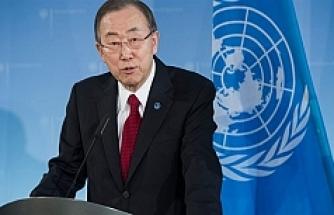 BM Genel Sekreteri Ban Rio'da Mülteci Takımını ziyaret etti