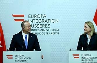 Çavuşoğlu: 'Avusturya'dan açıklama gelirse cevabını veririz'
