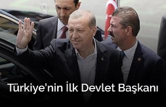 Türkiye Cumhuriyeti'nin 1. Devlet Başkanı: Recep Tayyip Erdoğan