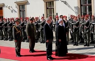 İran Cumhurbaşkanı Hasan Ruhani Viyana'da
