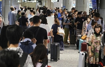 Japonya'daki havaalanında korkutan hata!