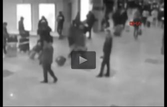 İşte Brüksel'deki patlama anı