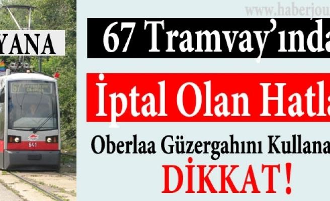 ''10. Viyana'da 67 Tramvayı Güzergahında Değişiklik''