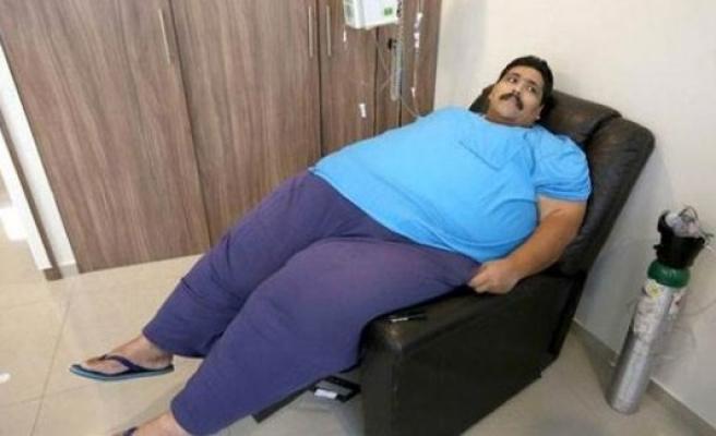 Dünyanın en kilolu adamı hayatını kaybetti!