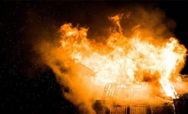 10. Viyana'da yangın bir can aldı