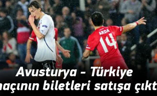 Avusturya - Türkiye maçının biletleri satışa çıktı