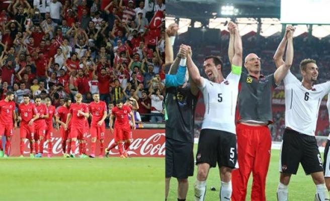 Türkiye A Milli Futbol Takımı, Avusturya'ya Konuk Oluyor