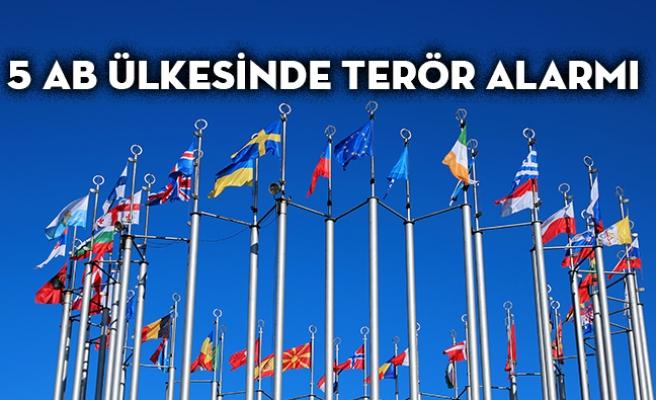 5 AB Ülkesinde Terör Alarmı