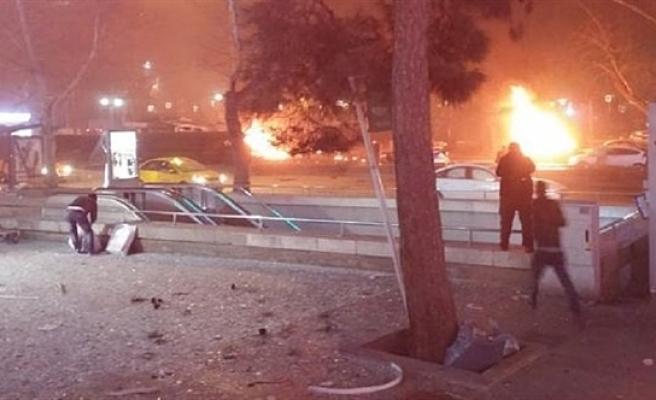 Ankara'da büyük patlama: Çok sayıda yaralı ve ölü var
