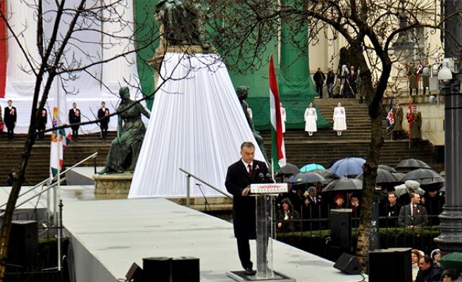Avusturya İmparatorluğu'na karşı yapılan Özgürlük Savaşı'nın yıl dönümünde konuştu