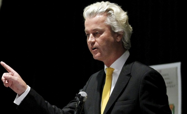 PEGIDA'dan Geert Wilders'e destek gösterisi