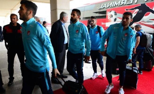 Türkiye A Milli Futbol Takımı Viyana'da