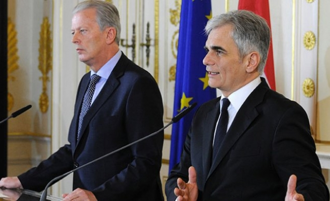 Avusturya Başbakanı Faymann: 'Türkiye ile yapılan anlaşma…'