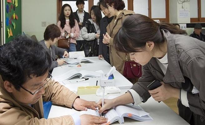 Güney Kore seçiminde zafer muhalefetin