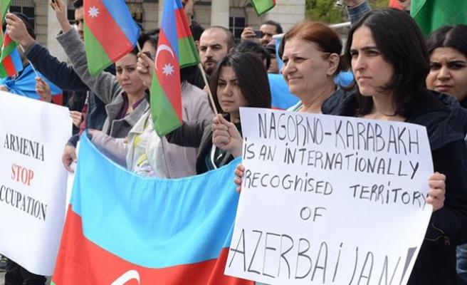 Viyana'da 'Ermenistan' protestosu