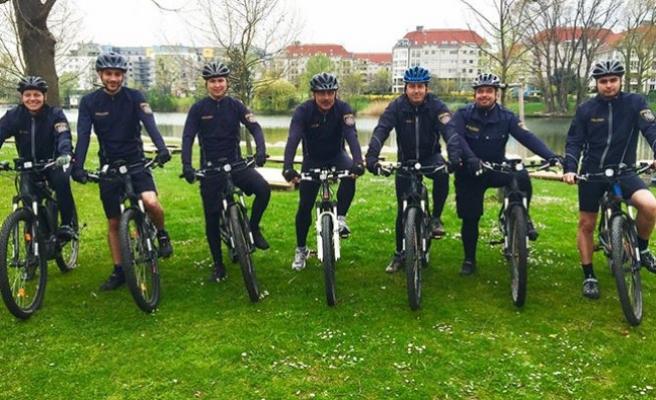 Viyana'da 'Bisikletli Polis' sayısı artıyor