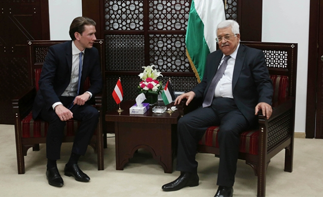 Avusturya Dışişleri Bakanı Kurz'tan Filistin'e ziyaret