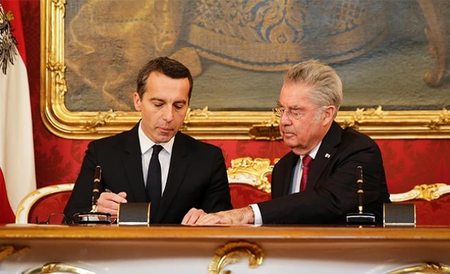 Avusturya'nın yeni başbakanı resmi göreve başladı