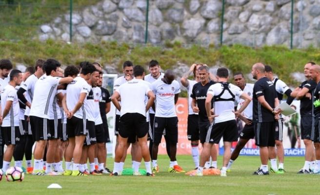 Beşiktaş, yeni sezon hazırlıklarına Salzburg'ta devam ediyor