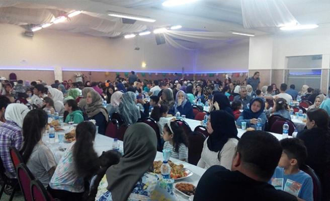 Rahma Austria'dan mültecilere iftar