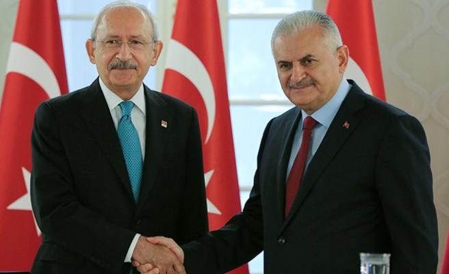 Yıldırım ve Kılıçdaroğlu ortak açıklama yaptı