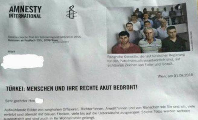 Af Örgütü Avusturya Şubesi, darbeciler için yardım kampanyası başlattı
