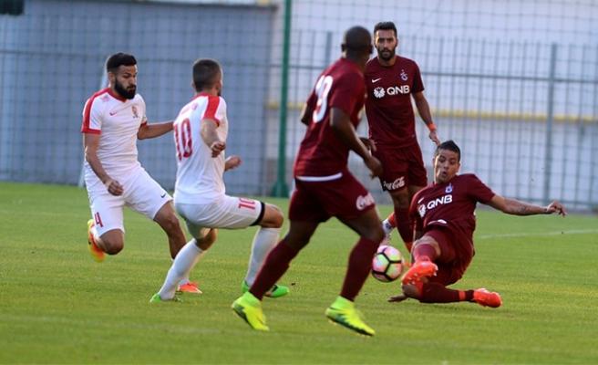 Karabakh Wien, hazırlık maçında Trabzonsporla karşılaştı