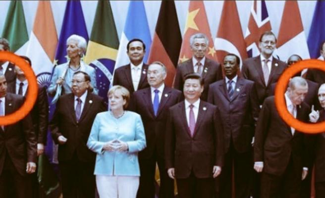 G20 zirvesine damga vuran kare: Erdoğan-Putin ve Obama
