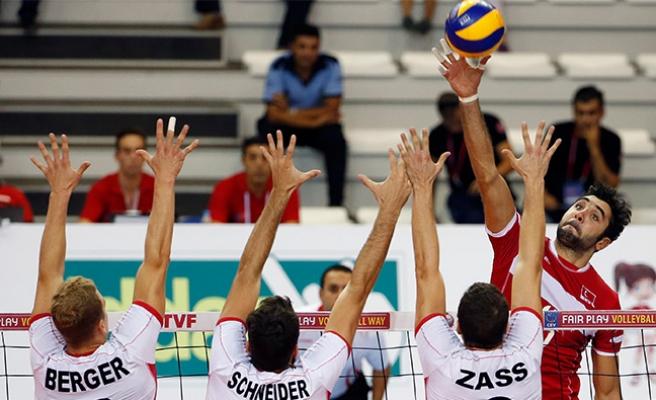 Türkiye Voleybol'da Avusturya'yı 3-1 yendi