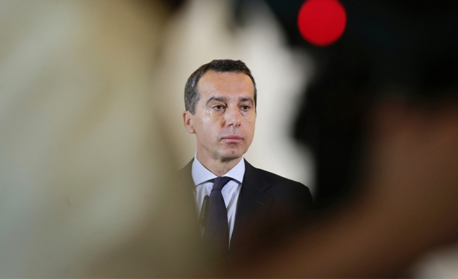Avusturya Başbakanı Kern, sebebini açıkladı
