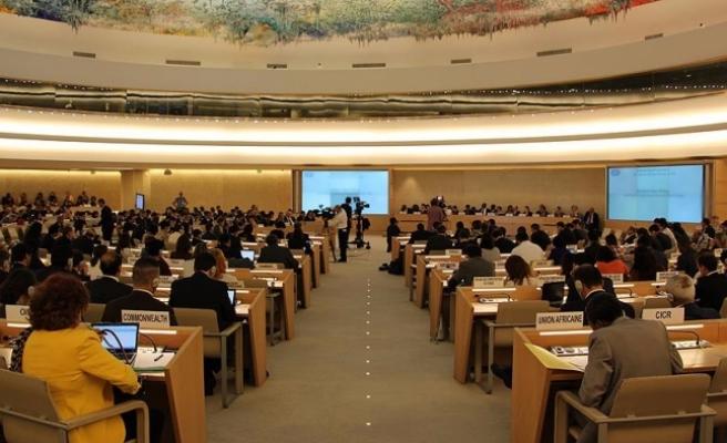 BM İnsan Hakları Konseyi Halep özel oturumu