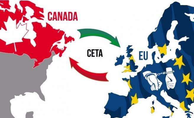 O ülkeden AB-Kanada ticaret anlaşmasına engel