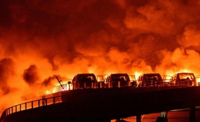 Havai fişek deposunda patlama: 6 ölü, 1 yaralı