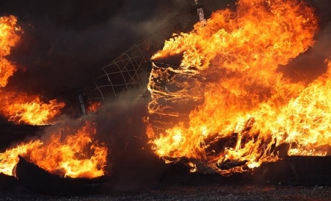 Viyana'da yangın: 1 ölü 9 yaralı