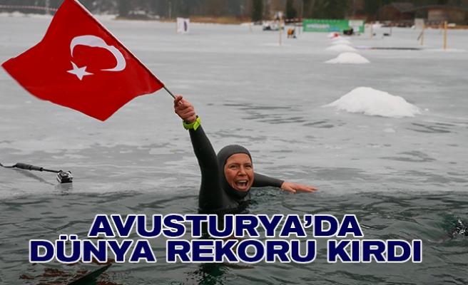 Türkiye'nin milli sporcusundan Avusturya'da yeni 'dünya rekoru'