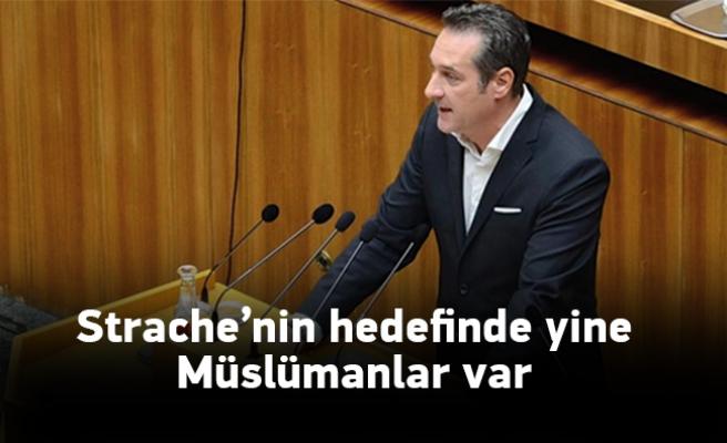 Strache, anlattığı fıkrayla Müslümanları hedef aldı