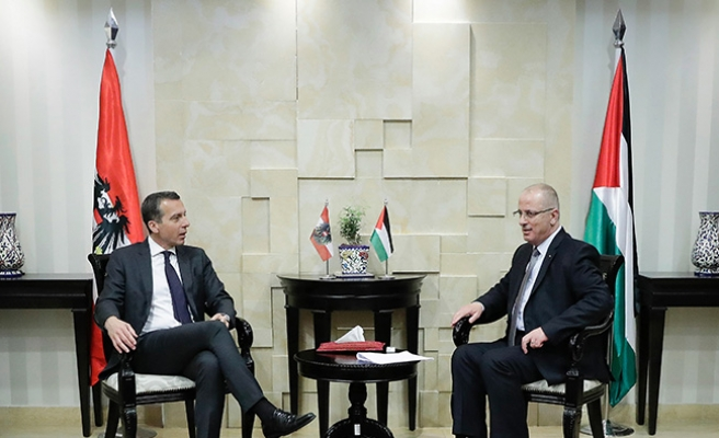Avusturya Başbakanı Kern, Filistin'de