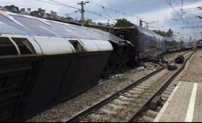 Viyana'da tren kazası: 7 yaralı