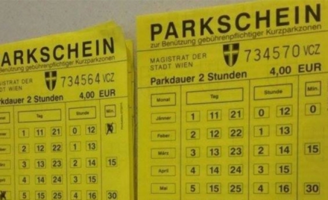 Viyana'da sahte 'parkschein' kenevirciyi ele verdi