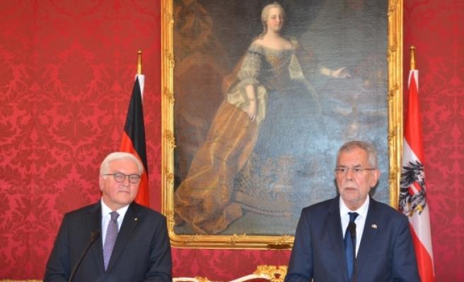 Almanya Cumhurbaşkanı Steinmeier Viyana'da
