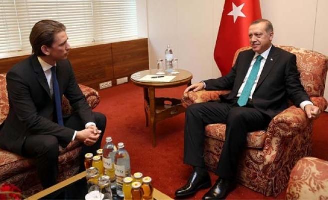 Sebastian Kurz'tan Erdoğan açıklaması: 'Kabul etmeyiz'