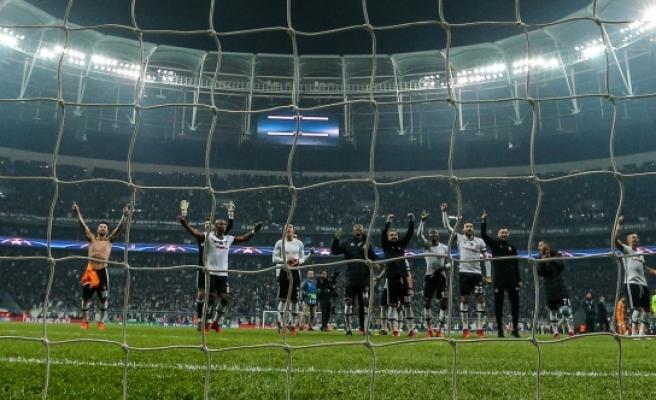 Beşiktaş, Şampiyonlar Ligi'nde tarih yazdı