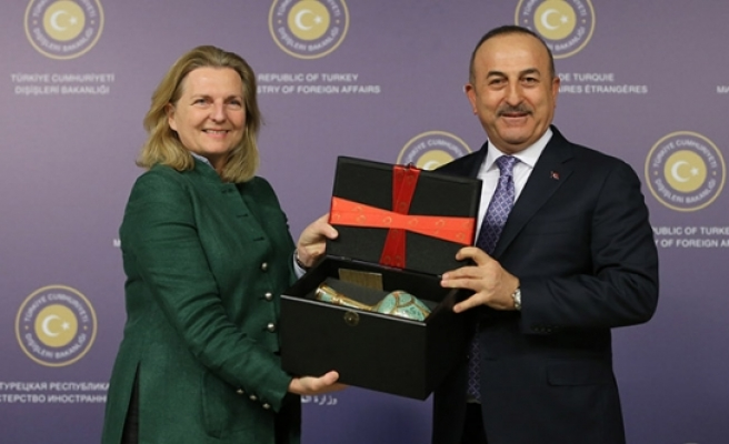Merakla beklenen Çavuşoğlu - Kneissl görüşmesinden kritik açıklamalar