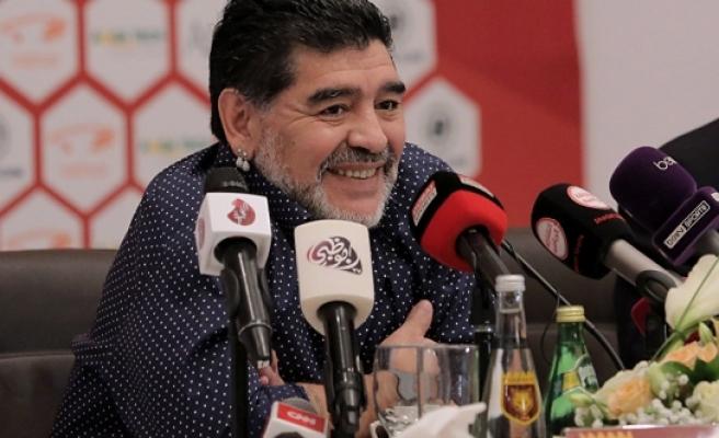 Maradona'ya Başkan'a 'hakaretten' ABD'ye giriş yasağı!