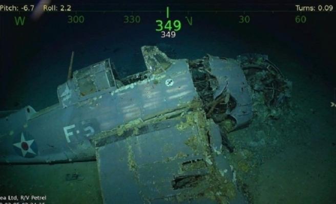 2. Dünya Savaşında batırılan ABD gemisinin enkazı bulundu