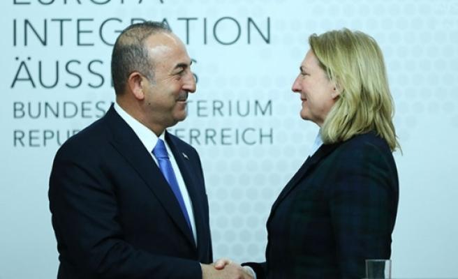 Çavuşoğlu Viyana: Kritik ziyaretten ilk açıklamalar