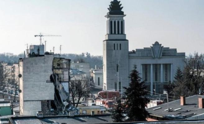 Cinayeti örtmek için binayı havaya uçurdu